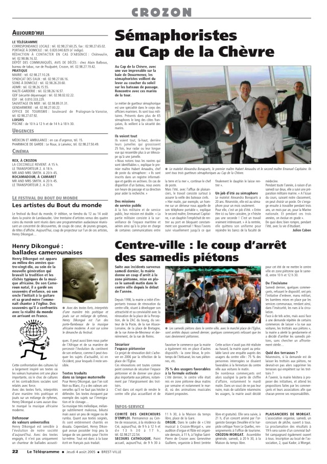 SÉMAPHORE - CAP DE LA CHÈVRE- PRESQU'ÎLE DE CROZON (FINISTÈRE) Cap_de10