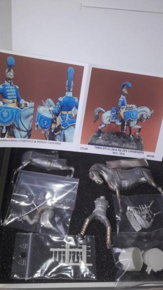 timbalier de carabiniers métal modeles 20210411