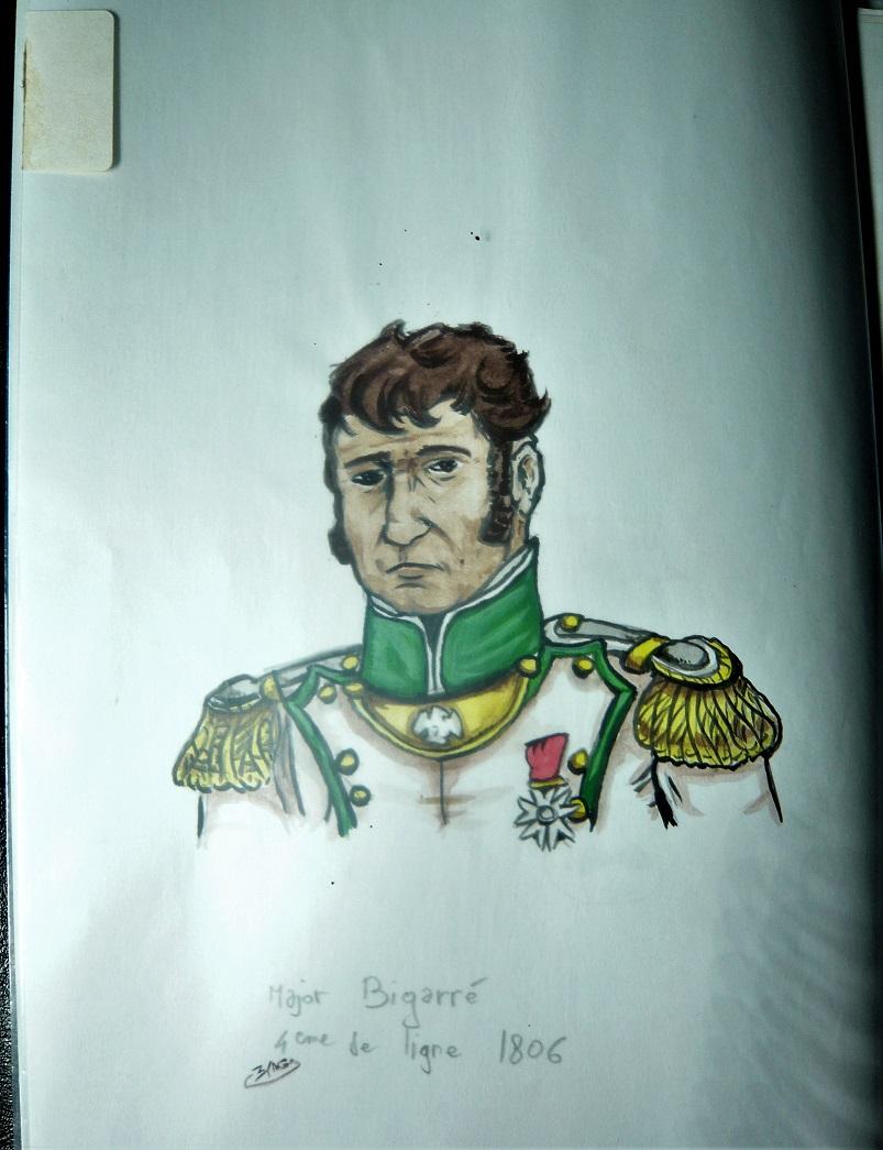 Croquis et peintures (1er Empire) de jeunesse... Bigarr11