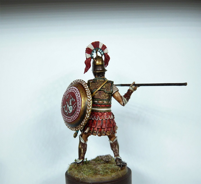 Vitrine de Trajan. Empire, grenadier à cheval historex 54mm - Page 5 Cent310