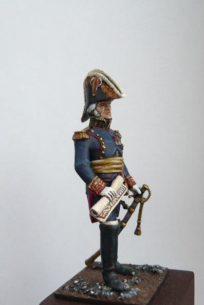 Vitrine de Trajan. Officier Républicain, Guerre d'Espagne 1937. P1320215