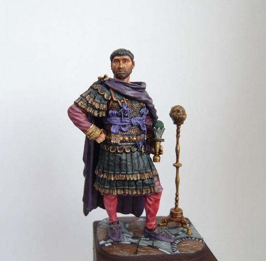 Vitrine de Trajan. Officier Républicain, Guerre d'Espagne 1937. P1320216