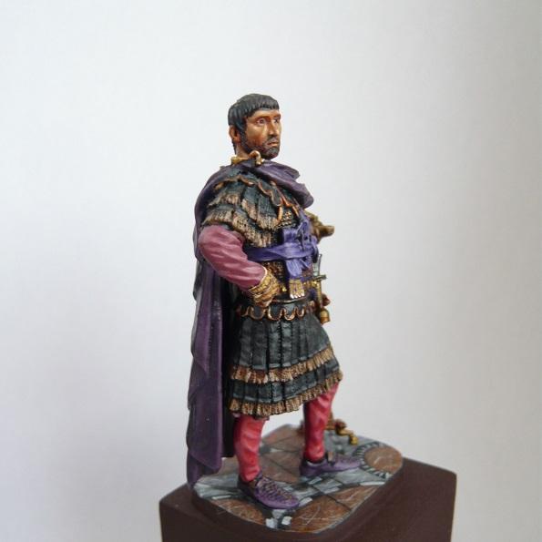 Vitrine de Trajan. Officier Républicain, Guerre d'Espagne 1937. P1320219