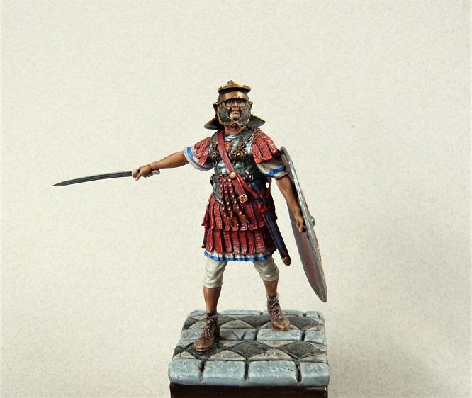 Vitrine de Trajan. Empire, Ancien régime et guerre de trente ans. 54mm - Page 5 Preto110