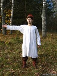 Повседневный костюм среднего достатка на 13-14 век. 00110