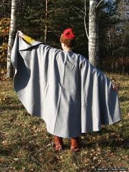 Повседневный костюм среднего достатка на 13-14 век. 00610