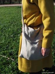 Повседневный костюм среднего достатка на 13-14 век. 00810