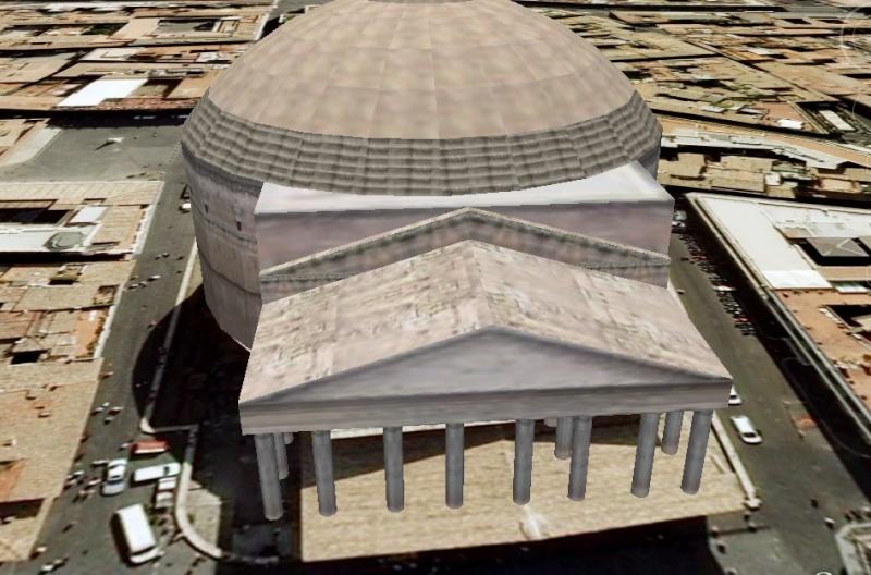 pantheon - Le PANTHEON à Rome (Italie) Panthe10