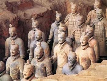L'armée en terre cuite de Xian (Chine) Visg10