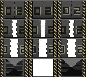 Des éléments futuristes Porte_16
