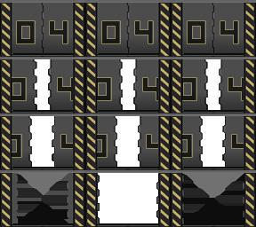 Des éléments futuristes Porte_27