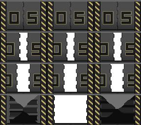 Des éléments futuristes Porte_28