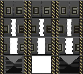 Des éléments futuristes Porte_29