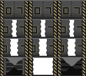 Des éléments futuristes Porte_30