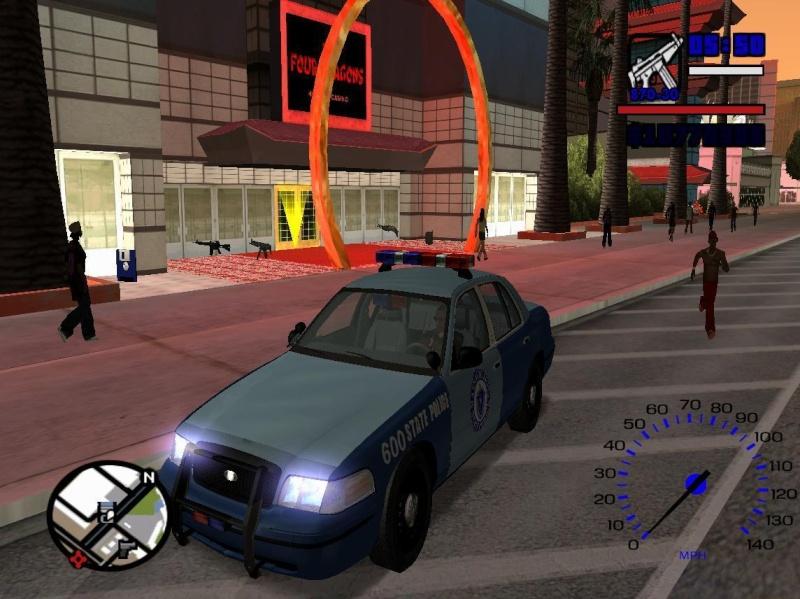 New Police Lighst For Police Ford Crown Victoria Gta_sa13