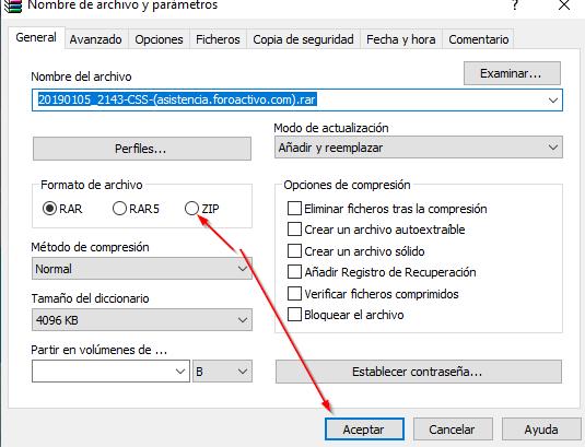 ¿Se puede agregar subir archivos con otras extensiones? 2019-010