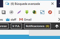 Poner alerta de nuevas notificaciones en la barra personalizada 2020-010