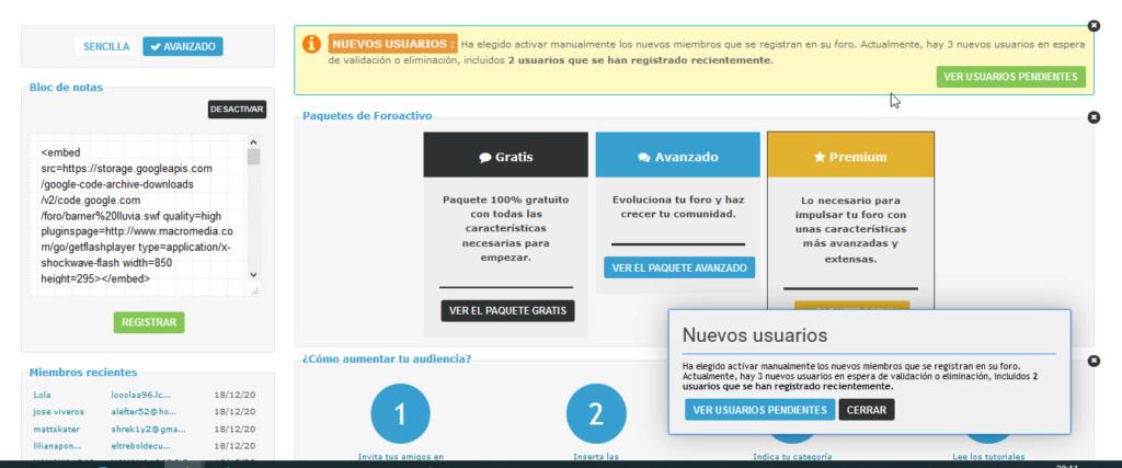 Nueva mejora para conocer los usuarios registrados desactivados Activa10