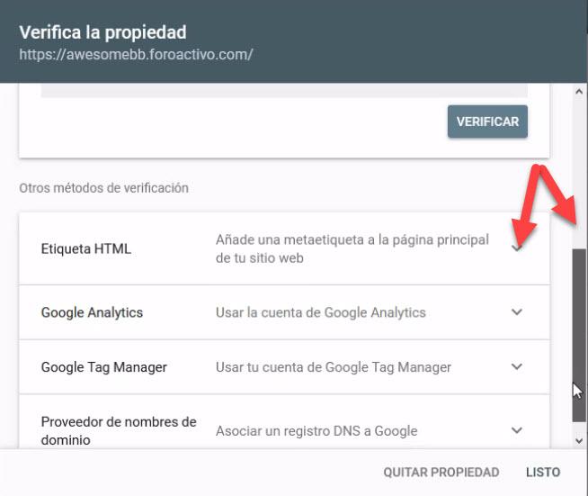 Indexar el foro en los principales buscadores Etique10