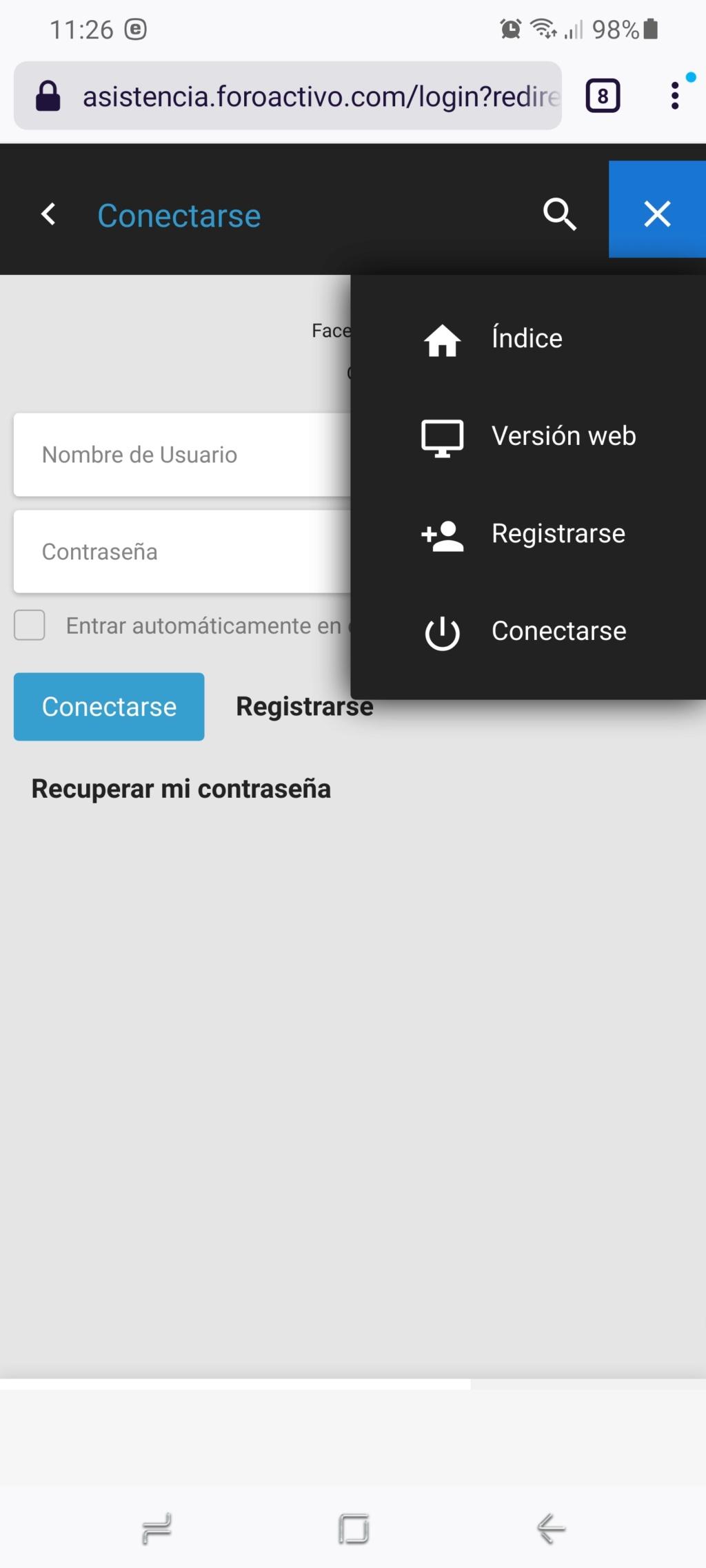 Versión móvil ocupa casi toda la pantalla en IPhone 4 Scree144