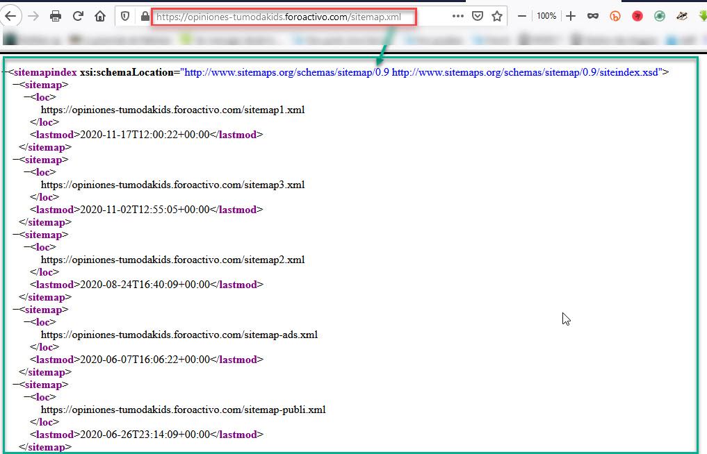 Imposible indexar el foro en Google search console Sitema10