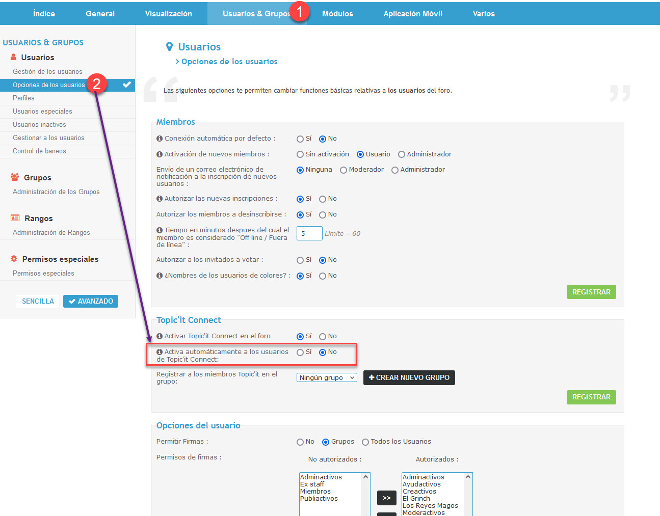 Algún usuario nuevo se ha colado en el foro sin aprobarle usuario Topic11
