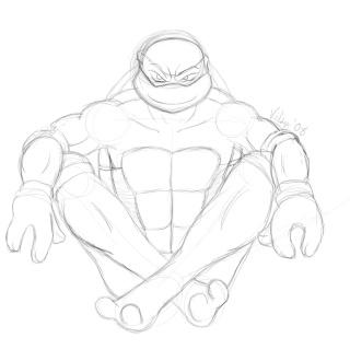 Vilsy's Random TMNT Fan Art Raph211