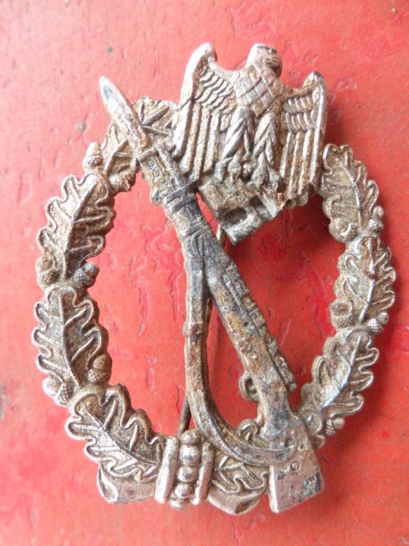 Insigne d'assaut infanterie Allemande 39/45 Infanterie Sturmabzeichen Sam_0010