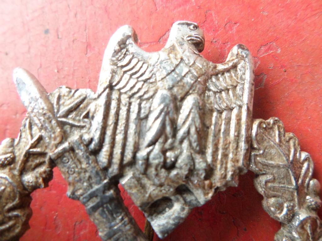 Insigne d'assaut infanterie Allemande 39/45 Infanterie Sturmabzeichen Sam_0011