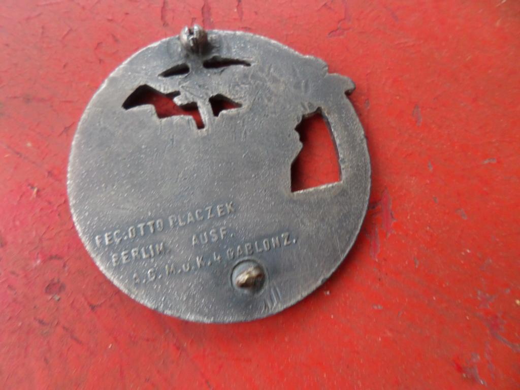 Insigne Kriegsmarine briseur de blocus  Sam_0212