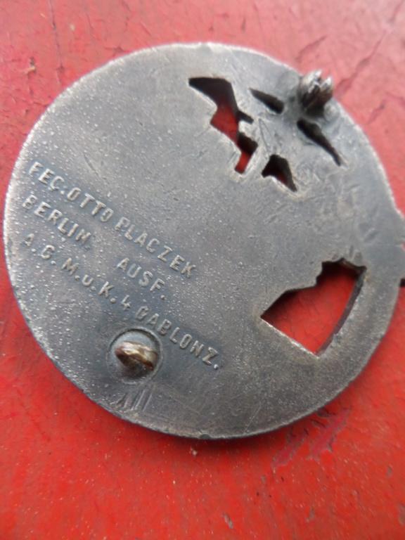 Insigne Kriegsmarine briseur de blocus  Sam_0215