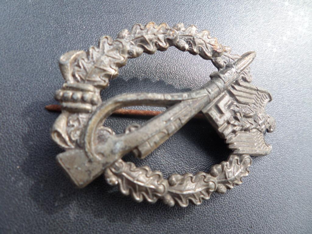 Insigne Allemand de combat d'infanterie ww2 Sam_1213