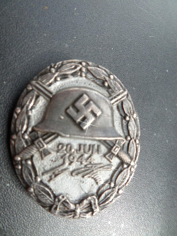 Copie Insigne Allemand des blessés 20 juillet 1944 Sam_1217