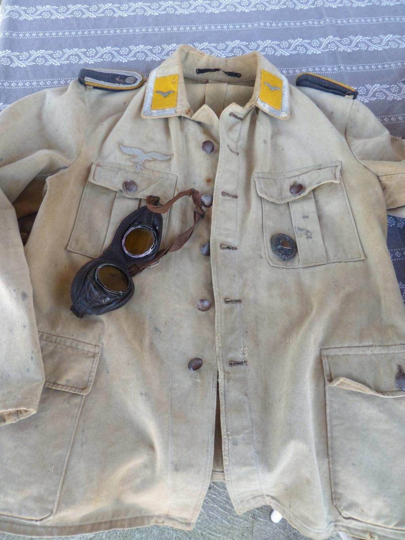 Veste Allemande Luftwaffe Afrika Korps Sam_6510