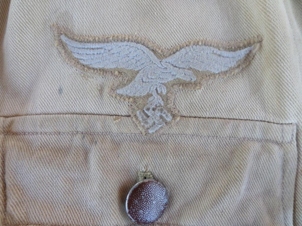 Veste Allemande Luftwaffe Afrika Korps Sam_6511