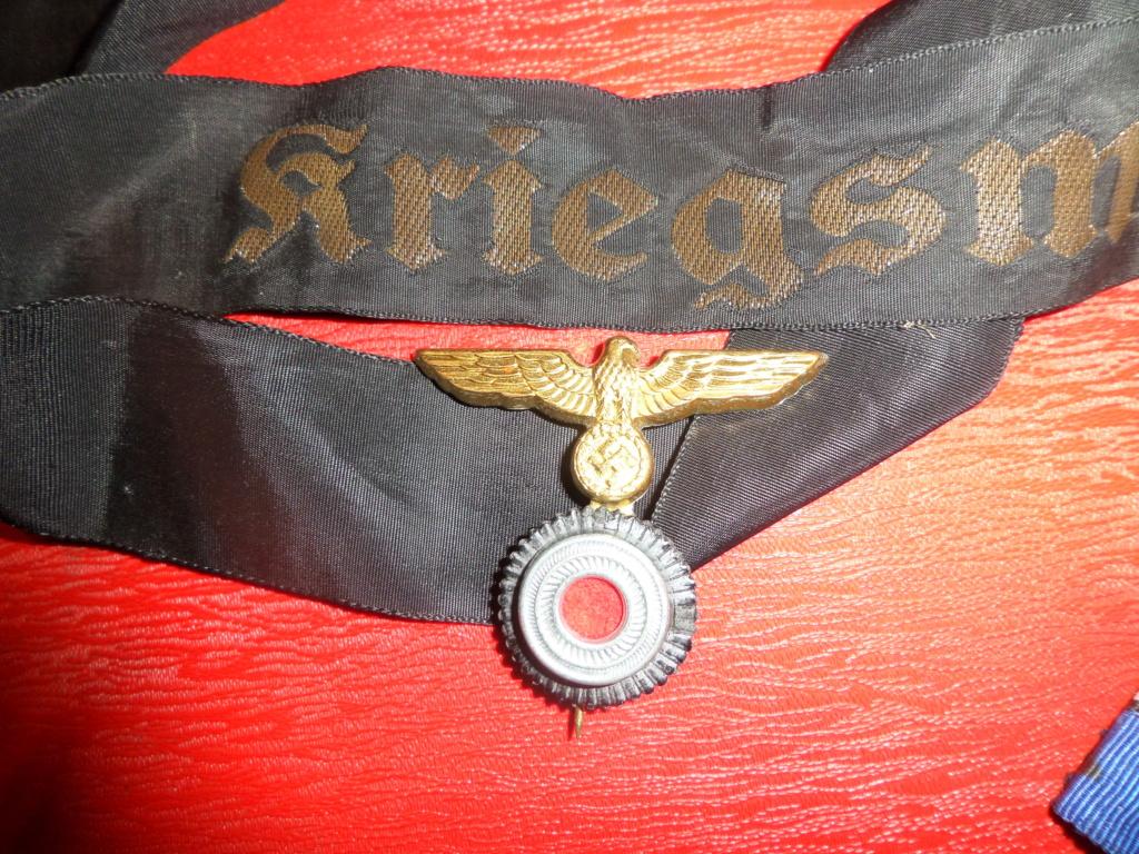 Insignes Allemands 39/45 (modèle réduit police ), cocarde bandeau Kriegsmarine Sam_7117