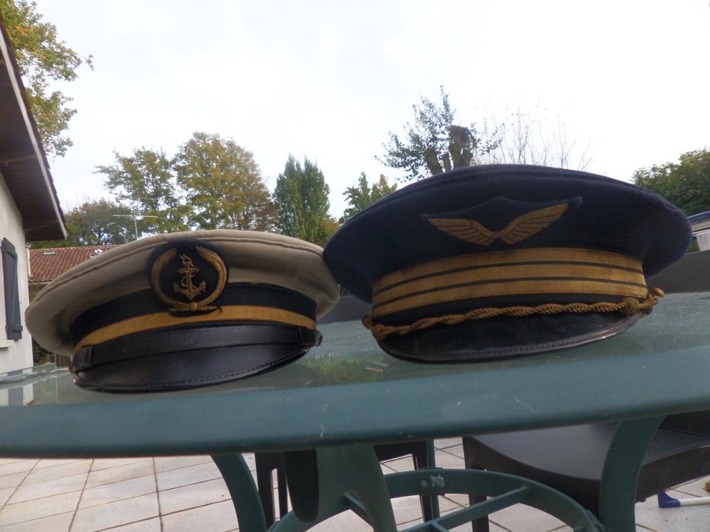 Vareuse, casquettes armée de l'air, aéronavale Sam_9321