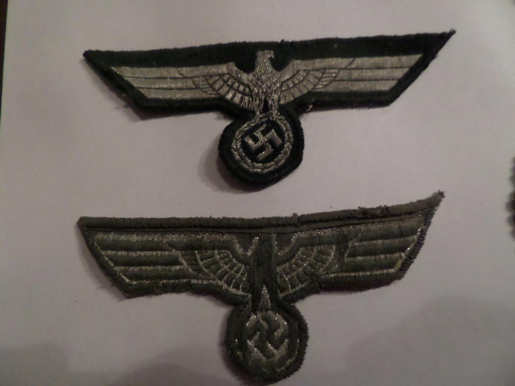 Insignes infanterie Sturmabzeichen et aigles vareuses Heer Sam_9627