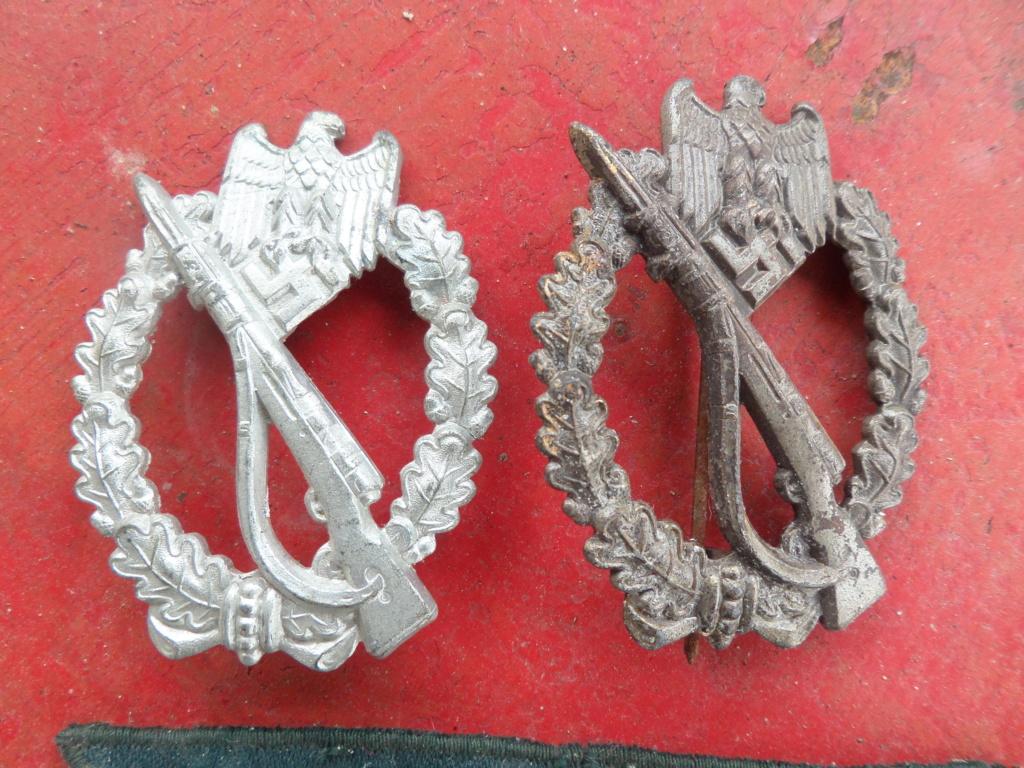 Insignes infanterie Sturmabzeichen et aigles vareuses Heer Sam_9710