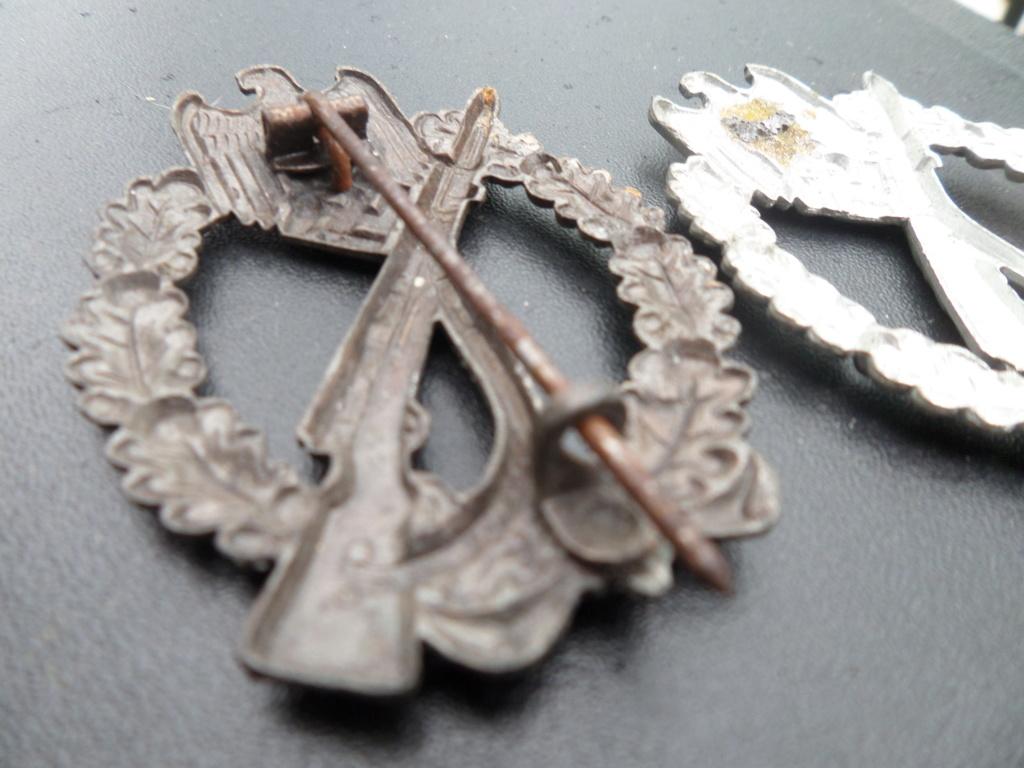 Insignes infanterie Sturmabzeichen et aigles vareuses Heer Sam_9713
