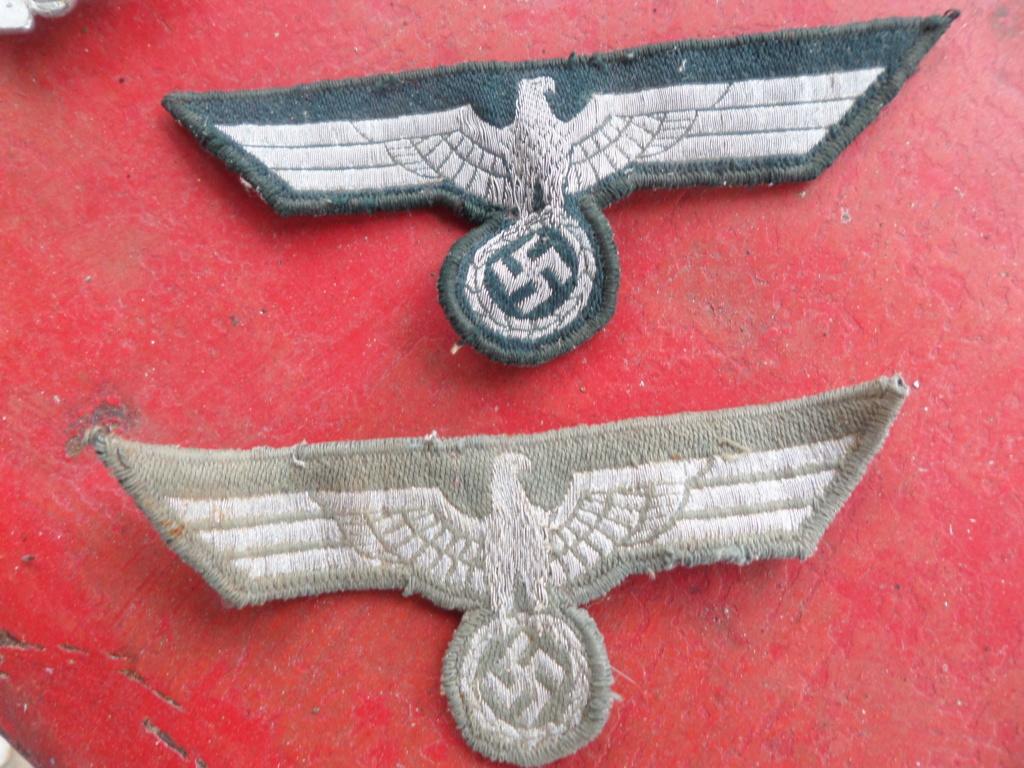Insignes infanterie Sturmabzeichen et aigles vareuses Heer Sam_9714