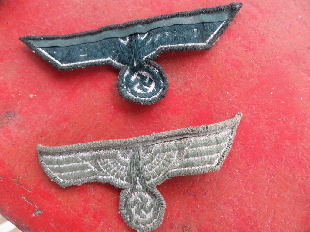 Insignes infanterie Sturmabzeichen et aigles vareuses Heer Sam_9715