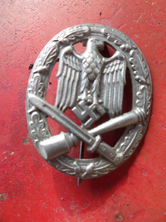 Insignes Allemands (Allgemeine Sturmabzeichen, Prix Dr. Fritz Todt, Aigle luft Sam_9832