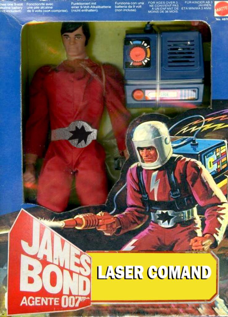 James Bond Agente 007 (collezione di spezialagent) Laser_10