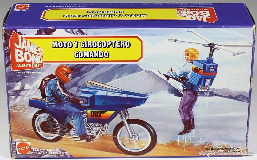 James Bond Agente 007 (collezione di spezialagent) Mattel10
