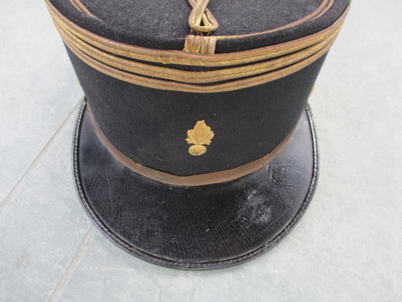 Superbe Képi 31 Capitaine d'artillerie non breveté (ULTIME ULTIME BAISSE DU PRIX) - ALPINS-MARS1 Img_4012