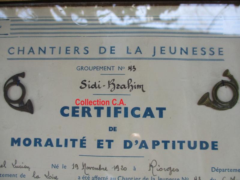 Le certificat de moralité et d'aptitude des Chantiers de Jeunesse (Régime Vichy) Img_6320