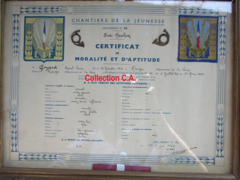 Le certificat de moralité et d'aptitude des Chantiers de Jeunesse (Régime Vichy) Img_6321