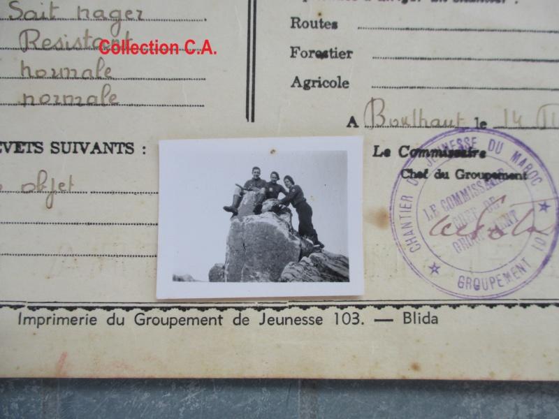 Le certificat de moralité et d'aptitude des Chantiers de Jeunesse (Régime Vichy) Img_6328