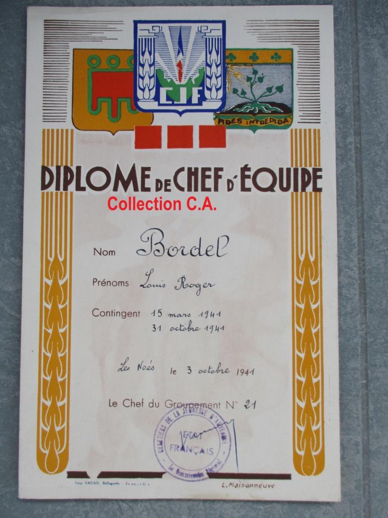 Le certificat de moralité et d'aptitude des Chantiers de Jeunesse (Régime Vichy) Img_6334
